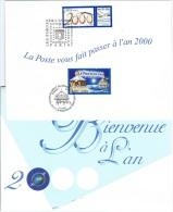AN L7 - FRANCE Voeux De La Poste Pour L´Année 2000 - Año Nuevo Chino