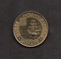 MEDAILLE TOURISTIQUE MONNAIE DE PARIS 2002 : MUSEE OCEANOGRAPHIQUE . MONACO. - Monnaie De Paris
