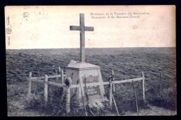 CPA ANCIENNE- FRANCE- EN ARGONNE (55)- MONUMENT DE LA TRANCHÉE DE BAÏONNETTES- TRES GROS PLAN - Non Classés