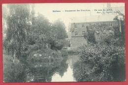 Mollem/ Molhem - Pensionnat Des Ursulines - Un Coin Du Jardin - 1909 ( Verso Zien )