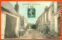 CPA Aquarellée 72 BESSE-sur-BRAYE Sarthe - Rue De La Fontaine ° Coll. Clayette - A. Briant édit à Savigny - France
