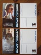 Blade Runner Movie Film Lot De 2 Cartes Postales - Unclassified