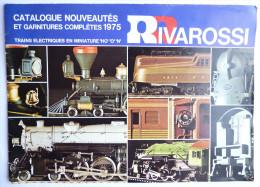 CATALOGUE RIVAROSSI  1975 TRAINS LOCO Train - France