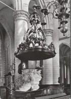 NL.- Dordrecht, Nederlands Hervormde Kerk.Interieur Grote Kerk Preekstoel. Kansel. 2 Scans - Dordrecht