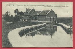 Soignies - Bâtiment Des Machines Du Château D'eau - Biamont - 1913 ( Voir Verso ) - Soignies