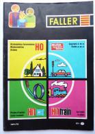 CATALOGUE FALLER 1971-72 TRAINS LOCO Et ACCESSOIRES Train - France