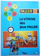 CATALOGUE FALLER 1972-73 TRAINS LOCO Et ACCESSOIRES Train - France