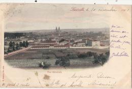 LUNEVILLE  Vue Générale Timbrée 1901 - Luneville