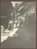 Pontboset, Valle D´Aosta, 4.8.1911, Scorcio Del Paese, Fotografia Autentica Originale D´epoca Cm. 7,5 X 10. - Luoghi
