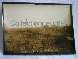 AUTHENTIQUE PHOTO 14-18 ( 17,8 X 13 Cm )  DE LA ZONE DE COMBATS DE PARVILLERS ( BOIS DU MILIEU ) SOMME DE 15.2.1916 - War, Military