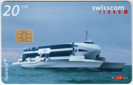 SWITZERLAND A-878 Chip Swisscom - Event, Exhibition, EXPO '02 - used