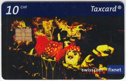 SWITZERLAND A-881 Chip Swisscom - used