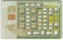 SWITZERLAND A-882 Chip Swisscom - used