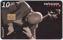 SWITZERLAND A-891 Chip Swisscom - Event, Jazz festival, Musician - used