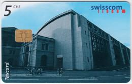 SWITZERLAND A-894 Chip Swisscom - Architecture, Modern art - used