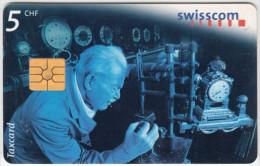 SWITZERLAND A-916 Chip Swisscom - Occupation, Watchmaker - used