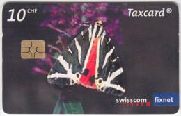 SWITZERLAND A-917 Chip Swisscom - Animal, Butterfly - used