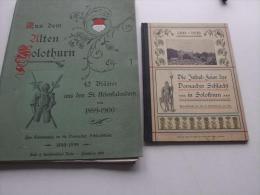 Die Jubelfeier Der Dornacher Schlacht In Solothurn : 1499 - 1899 Mappe & Buch , Dornach !!!  Sui - 3. Frühe Neuzeit (vor 1789)