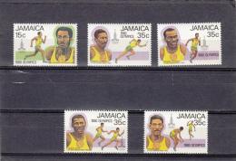 Jamaica Nº 495 Al 499 - Giamaica (1962-...)