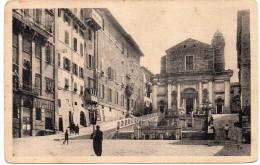 MARCHE-ANCONA VEDUTA PIAZZA DEL PLEBISCITO ANIMATA - Ancona
