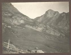 Champorcher, Valle D´Aosta 5.8.1911, Nei Pressi Di Dondena, Fotografia Autentica Originale D´epoca Cm. 7,5 X 10. - Luoghi