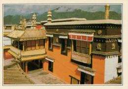 TIBET:  LHASA:   IL  JOKHANG      (NUOVA CON DESCRIZIONE DEL SITO SUL RETRO) - Tibet