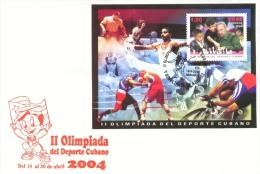 Lote CU4398F, Cuba, 2004, II Olimpiada Del Deporte Cubano, SPD-FDC, Ajedrez, Fidel, Chess, Deportes, Sport - Kuba