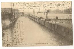 """S2855 - 23. Choisy-le-Roi - Inondations De Janvier 1910 - Le Rapide De Limoges Passant En Gare """" Train"""" - Inondations"""