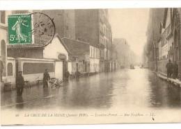 S2856 - 40 - La Crue De La Seine (Janvier 1910) -Levallois-Perret - Rue Fazillau - Inondations