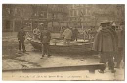 S2857 - 81 - Inondations De Paris  (Janvier 1910) - Les Sauveteurs - Inondations
