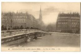 S2859 - 49 - Inondations De Paris  (Janvier 1910) - Le Pont De L' Alma - Inondations