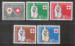 Switzerland 1957 - Red Cross - Zwitserland
