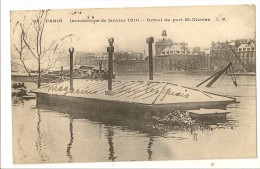 S2861 - 28 - Paris - Inondations De Janvier 1910 - Octroi Du Port St-Nicolas - Inondations