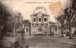 95 Franconville Ecole Des Filles Animée - Franconville