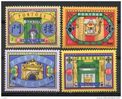China  Chine : (4) 1998 Macau Macao - Passages SG1030/3** - Andere