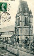 N°6230A -cpa Evrecy -l'église- - Altri Comuni