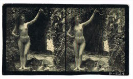 NUS FEMININS - NUDED - PHOTO STEREOSCOPIQUE  - Beauté Féminine D´Autrefois - Début Années 1900 -  P.974 - Photos Stéréoscopiques