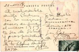 Equatorial Guinea - Camaleon cornudo - Used Stamp Timbre 1958 ( 2 scans )