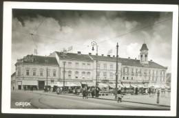 CROATIA OSIJEK OLD POSTCARD 1942 NDH STAMP - Croatia