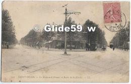 SAINT-DENIS - Le Boulevard Ornano Et Route De La Révolte (animée) - N° 129 - Saint Denis