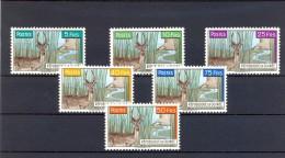 REPÚBLICA DE GUINEA, YVERT 54 / 59 **, CAZA, MAMÍFEROS, ELAN, ANTÍLOPE - Animalez De Caza