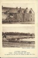 CONCORET - Comper - Château Historique - La Chaussée Avec Une......                       -- Donias - Autres Communes