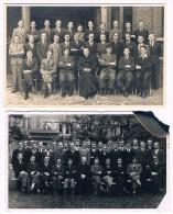 2 Photos-cartes 1940-1941, Sint-Rombouts College, Mechelen - Malines