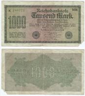 Alemania - Germany 1.000 Mark 1922 Nº Verde Pick-76-h Ref 57-3 - 1000 Mark