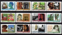 274 Au 285  De  2009 - Adhésif Oblitéré -  Série De 12 Timbres . ART - FEMMES  Du  MONDE . Multicolore - Autoadesivi