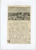 Dunes De Coxyde - Koksijde    (  Brief Langs Beide Zijde Geschreven  (  23 X 14 Cm )) - Koksijde