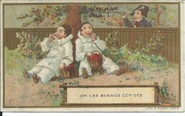 CHROMO , Compagnie Française Des Chocolats & Des Thés , L. SCHAAL é Cie , Oh Les Bonnes Cerises - Chocolat
