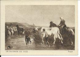 CHROMO , MUSCULOSINE BYLA , Jus De Viande Crue , Le Passage Du Gué - Chromos