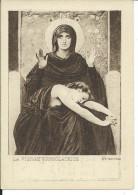 CHROMO , MUSCULOSINE BYLA , Jus De Viande Crue , La Vierge Consolatrice - Chromos