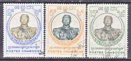 CAMBODIA   68-70  (o)   KING NORODOM I - Cambodia